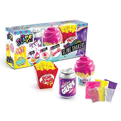 So Slime DIY - Slimelicious Scented Slime 3-Pack – Ice Cream, Grape Soda & Popcorn