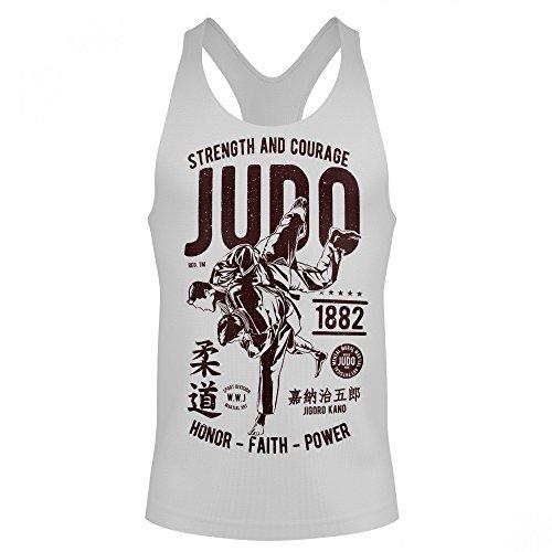 Unisex Muskelshirt ärmellos Tank Top Judo Kampfsport fighting