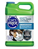 Cat's Pride Total Odor Control Premium Clumping Fragrance Free Scoopable Cat Litter Jug, 15-Pound,...