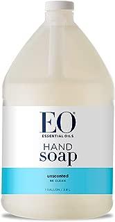 EO Liquid Hand Soap, Unscented, 128 Fluid Ounce