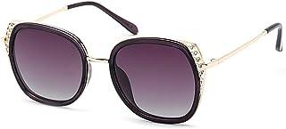 KMCMYBANG Dama Gafas de Sol, Gafas de Sol Lentes UV400 para Hombres y Mujeres Protección UV Unisex para Exteriores Gafas de Sol de Mujer, (Color : Púrpura, tamaño : Free)