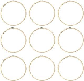 Milisten 2Pcs Cerchi da Ricamo in Plastica a Forma di Rettangolo Ottagonale a Forma di Punto Croce Telai per Cornici per Cucito Ricamo Fai da Te