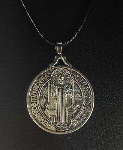 Colgante medalla de San Benito