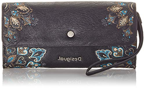 Desigual Accessories PU Long Wallet, Femme, Vert, U