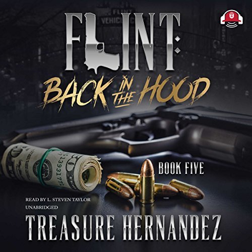Flint: Back to the Hood audiobook cover art