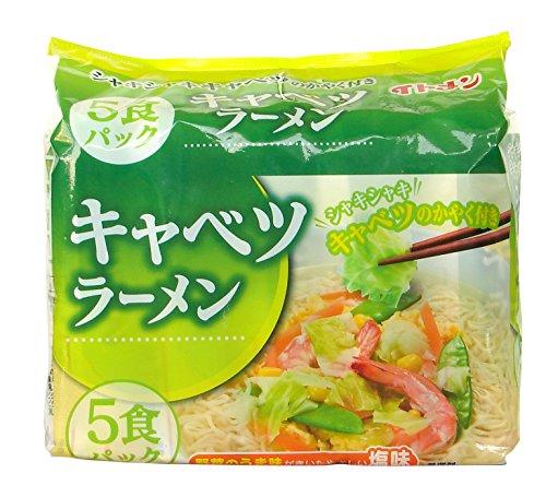 イトメン キャベツラーメン たんめん味 5食 90gX50 [2207]