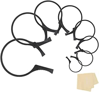 LingoFoto 4 Packs (8 Pieces) Camera Lens Filter Wrench Kit, Lens Filter Remover, Fit 37-46,48-58,62-77,82-95mm Lens Thread...