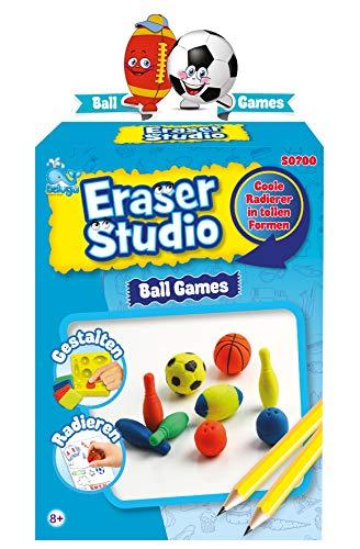 Beluga Spielwaren 50700 Eraser Studio Sport 50700-Eraser, bunt
