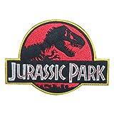 Écusson brodé Jurassic Park à repasser ou à coudre