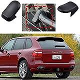 Tapa de palanca de cambio de brazo de limpiaparabrisas trasero compatible con Porsche Cayenne 2004-2010 95562832000 95562832002