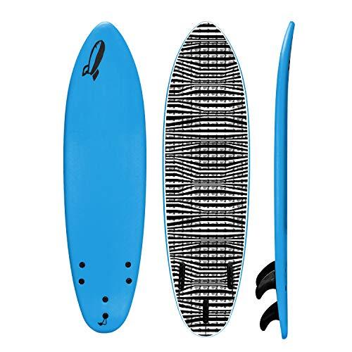 Rock It 6' Baby Jesús Surfboard (Blue)