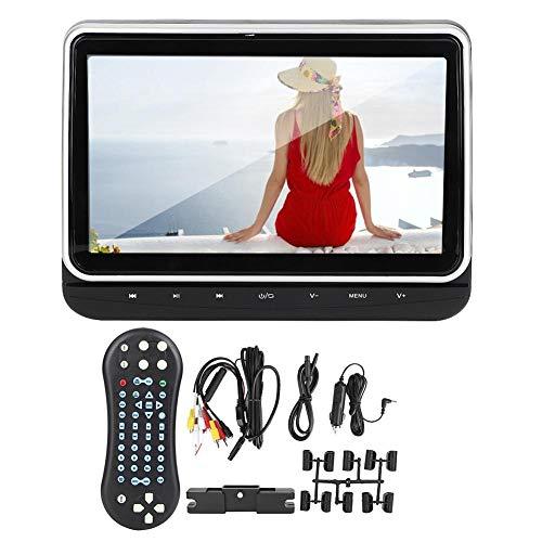 Draagbare dvd-speler, auto-muziekspeler auto dvd-speler, 10,1 inch auto-achterbank hoofdsteun HD TFT LED-scherm HDMI dvd-speler auto-accessoire