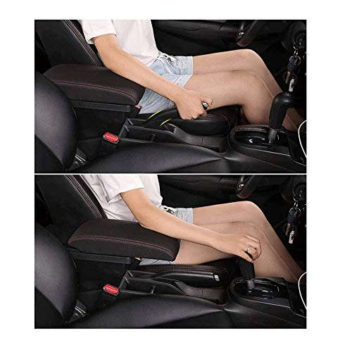 TDDRW Apoyabrazos Coche para Opel Astra H 2004-2014, Caja De Apoyabrazos Consola Central Apoyabrazos Caja Reposabrazos MultifuncióN con Cenicero Portavasos Coche Accesorios