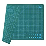 HIJIRH Self Healing Cutting Mat,PVC Cutting Pad,Rotary Cutting Mat Double Sided 3-Ply Craft Cutting Board,for Sewing Crafts Hobby Fabric Precision Scrapbooking Project,11.8x8.8'