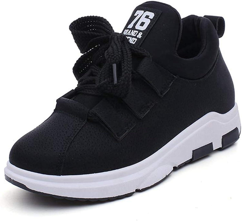 ASO-SLING Women's Comfortable Platform Walking Sneakers Lightweight Casual Running Fitness Flat shoes