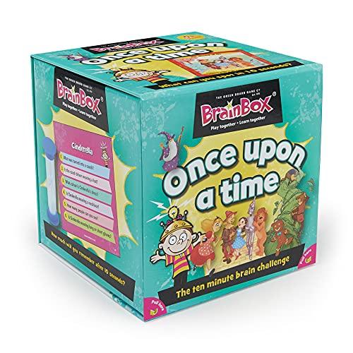 Green Board Games- Juego De Memoria Once Upon A Time Inglés, (G0990027)