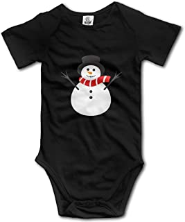 Happy Holidays Penguins and Snowman with Green Snowy Background 3dRose TNMGraphics Christmas T-Shirts