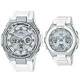 [カシオ] 腕時計 ジーショック×ベビージー ペアセット G-STEEL & G-MS GST-W310-7AJF / MSG-W100-7AJF