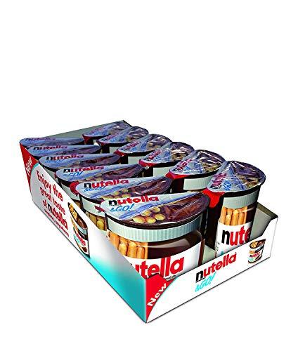 NUTELLA Nutella & Go 12 pack Nutella und Cracker-Set