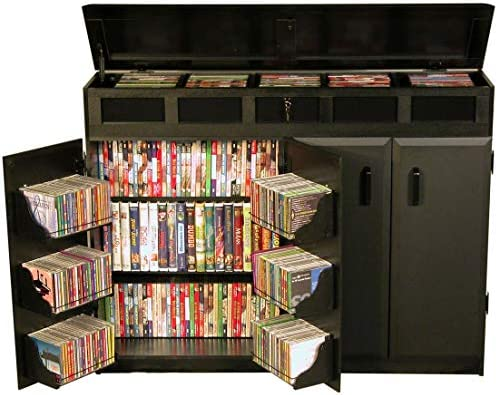 Venture Horizon Top Load Media Cabinet Black product image
