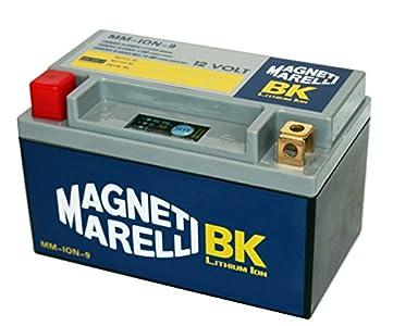 MM-ION-9 - Batería de litio para motos. YTX12-BS / YT12A-BS 10 AH.