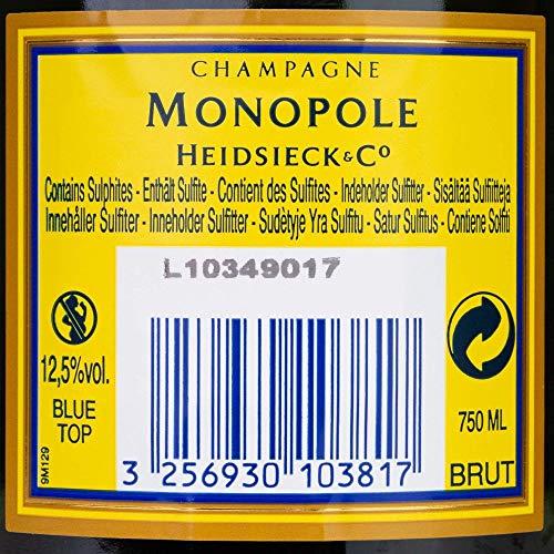 Champagne Monopole Heidsieck Blue Top Brut - 5