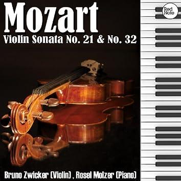 Mozart: Violin Sonata No. 21 & No. 32