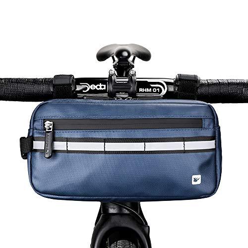 Asvert 3L Bolsa de Manillar Bicicleta MTB Multifuncional,Bol