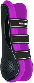 WEATHERBEETA PRO AIR Open Front Boots Black/Pink Warmblood Horse Rug