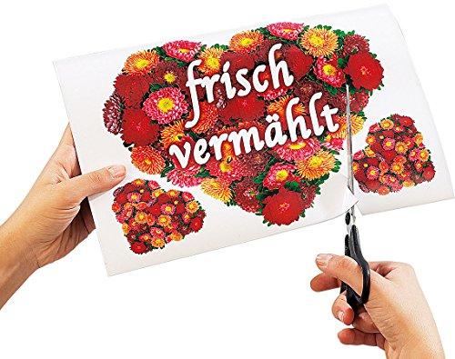 Your Design 16 Inkjet-Magnetfolien wasserfest A4 hochglänzend/weiß