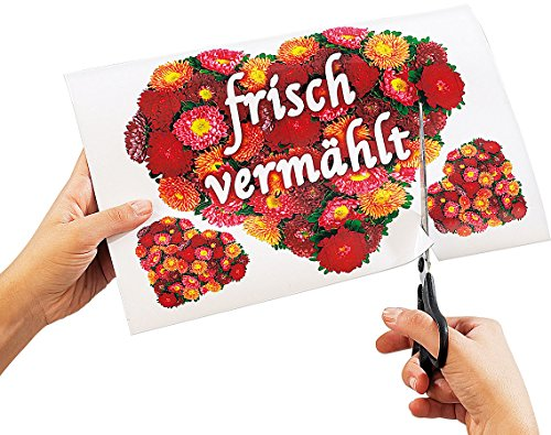 Your Design Magnet Fotopapier: 16 Inkjet-Magnetfolien wasserfest A4 hochglänzend/weiß (Magnetplatte)