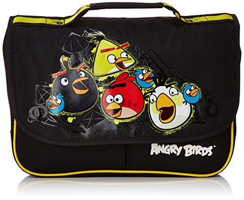 Angry Birds Cartable Cartable 35 cm (Noir)