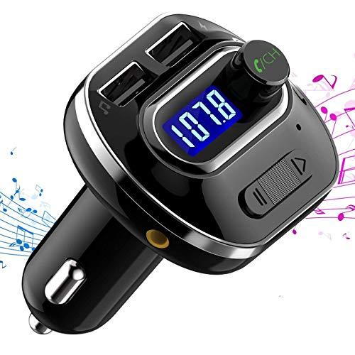 VicTsing Transmisor FM Bluetooth 4.1 para Coche
