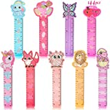 Konsait 144pcs Valentines Day Bookmark Rulers,Bookmark Pals, Holiday Decorations, Goodies, Pink And Love Party Decor, Classroom Rewards Prizes, Reading Lovers Page Markers