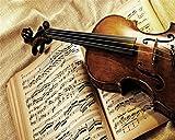 Zhcmy Europäische Geige Vintage, 250 cm (B) X 175 cm (H)