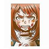 DIY Personajes de Anime Hero Academia Pintar por Numeros Adultos DIY Arte De La Pared Digital Pintura De La Lona De Navidad Regalo Decoración para El Hogar 30x45cm - sin Marco