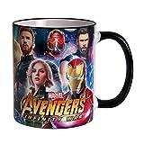 Avengers Tasse Heroes Collage Infinity War 320ml Marvel Elbenwald Keramik