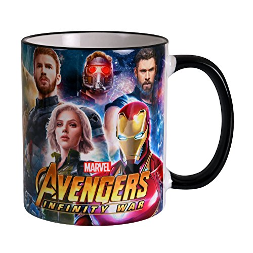 Avengers Cup Heroes Collage Infinity Was 320ml Marvel Elven Forest Pottery