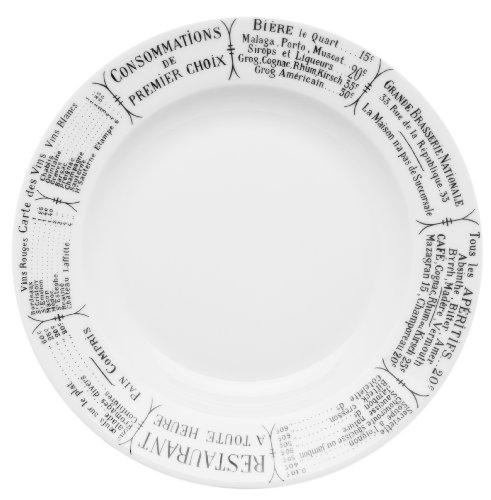 Pillivuyt 200123BR Brasserie Suppenteller - 8 Unzen