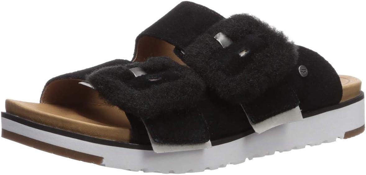 Cheap bargain UGG Women's Fluff Flat Sandal Inexpensive Indio