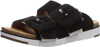 UGG Women's Fluff Indio Flat Sandal