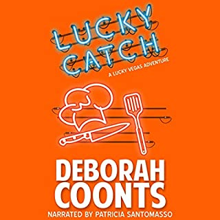 Lucky Catch      The Lucky O'Toole Vegas Adventure Series, Book 5              By:                                                                                                                                 Deborah Coonts                               Narrated by:                                                                                                                                 Patricia Santomasso                      Length: 10 hrs and 36 mins     Not rated yet     Overall 0.0