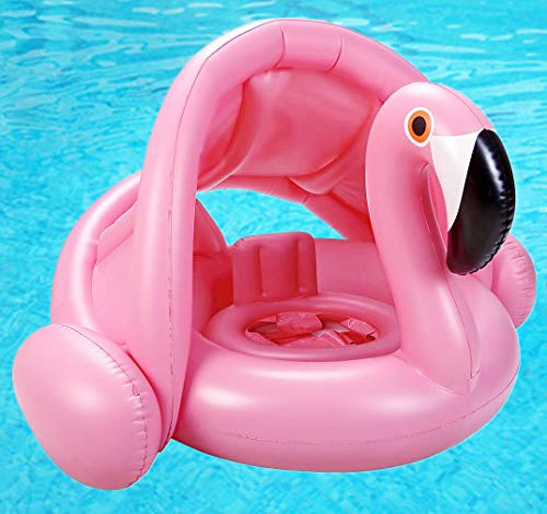 Flamingo Baby Water Floats Toys