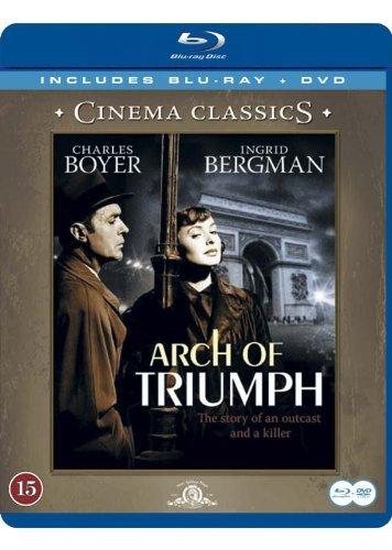 Arco de triunfo / Arch of Triumph (Blu-Ray & DVD Combo) [ Origen Sueco, Ningun Idioma Espanol ] (Blu-Ray)