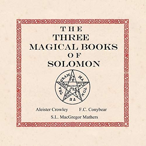 The Three Magical Books of Solomon cover art