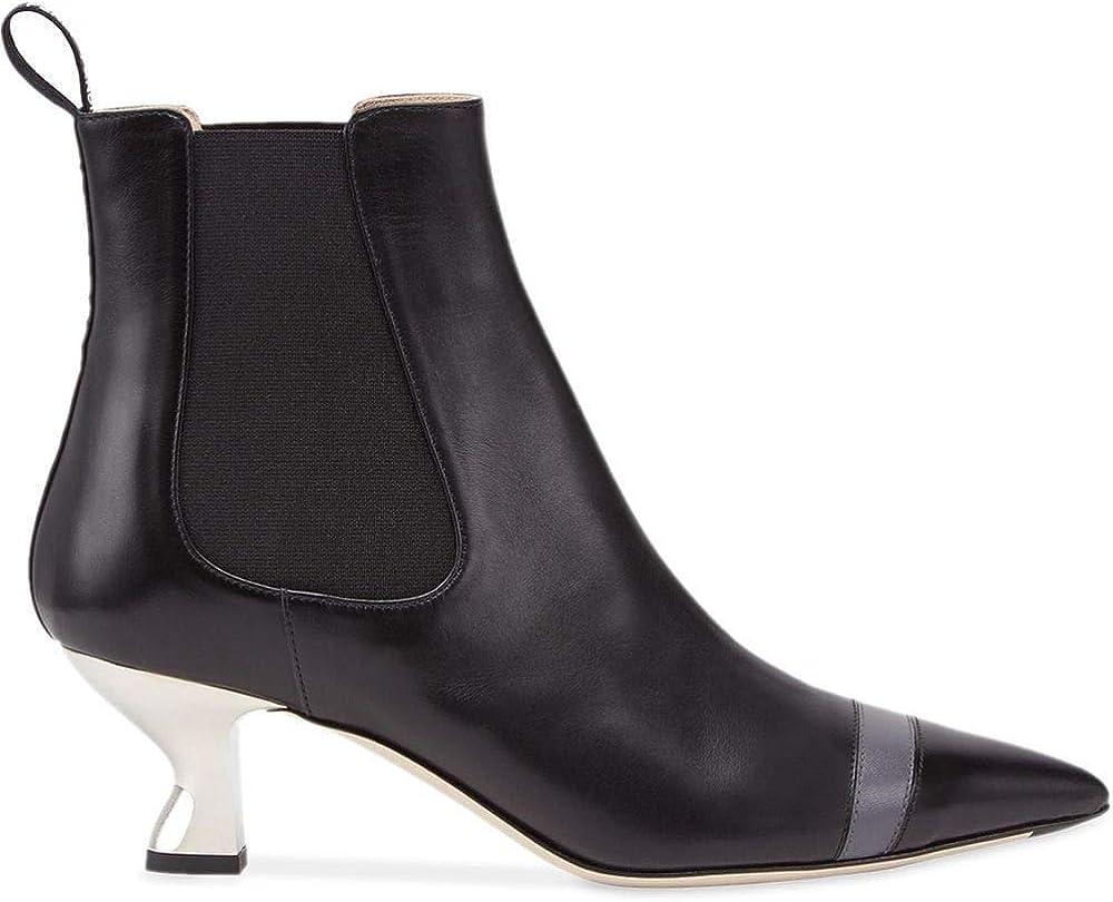 Fendi luxury fashion,stivali da donna in pelle,numero 36 eu 8T6956A2C9F17S3