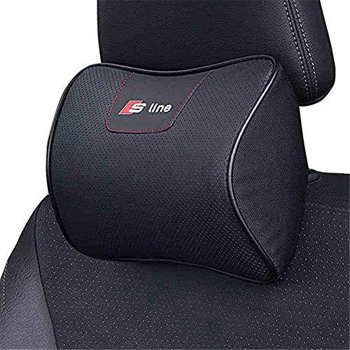 Reposacabezas de coche para almohada de viaje para el cuello, transpirable y soporte para coche (1 pieza)