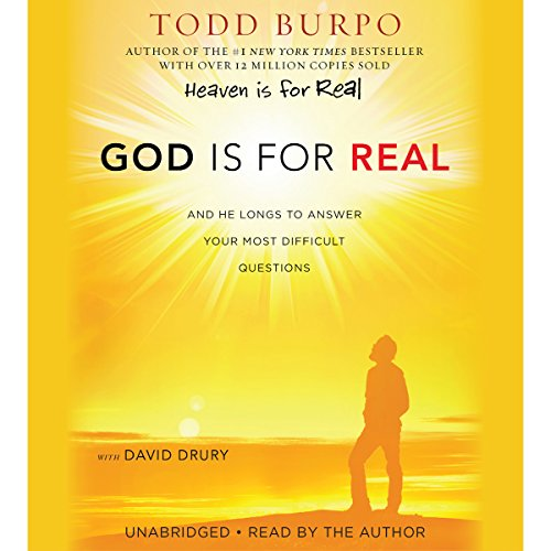 God Is for Real audiobook cover art