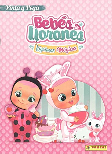 Bebés Llorones 1, rosa Pinta y Pega