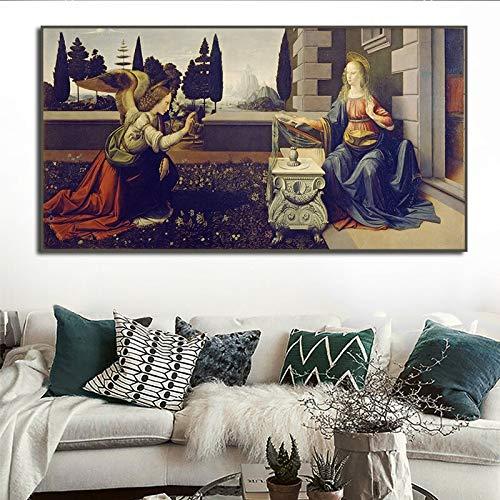 wZUN Pintura al óleo Retro Carteles e Impresiones Pintura C